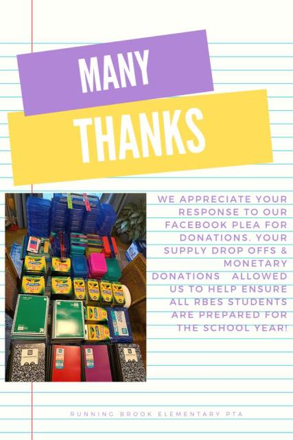 Supply Back to School Drive