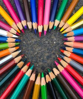 No matter what color we are, we are all made of the same material.