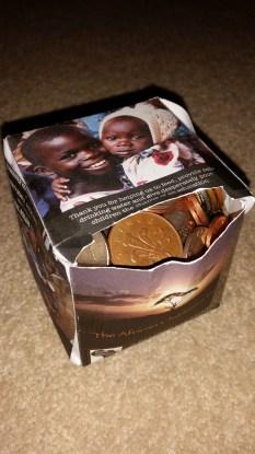 My bulging penny box