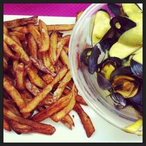 Moules frites Bodégon