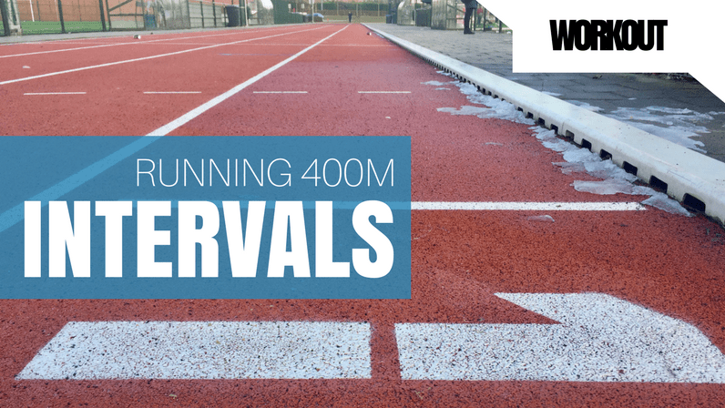 Today's Workout – 400m Intervals – 15 Feb 2017