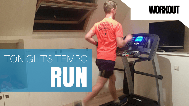 Today's Workout – Tempo Run – 3 Mar 2017