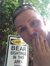 caution bear!