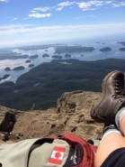 Lone Cone, Clayoquot Sound, Tofino, top, Osprey, Asolo