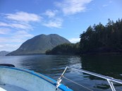 Lone Cone, Meares Island, Jamie's Whaling Station, water taxi, tofino