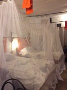 Princess bed! I want misquote nets at home so I can be a princess all the time.
