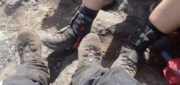 Lana and Brande with Asolo boots that have and will see a lot of Kili-meters.
