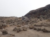 Mount Kilimanjaro, Rongai Route on the moon!