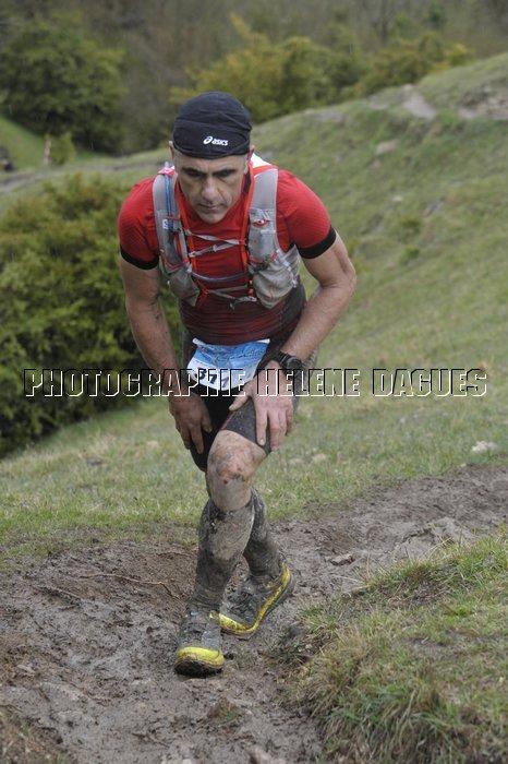 Laurent Jalabert au Trail des Citadelles - Crédit photo : Héléne Dagues