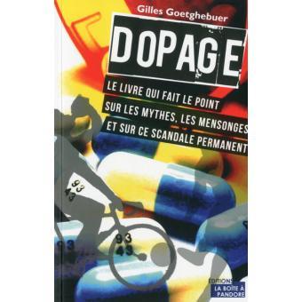 Le livre Dopage de Gilles Goetghebuer