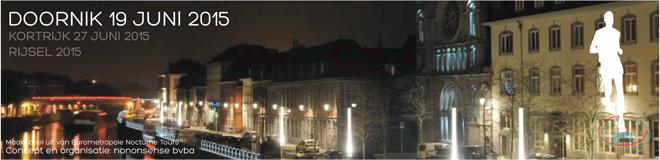Eurométropole Nocturne le 19 juin 2015 à Tournai