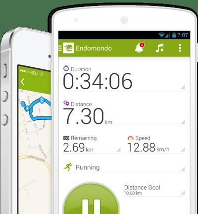 L'app Endomondo est gratuite, mais l'abonnement Premium est nécessaire pour dire adieu à la publicité