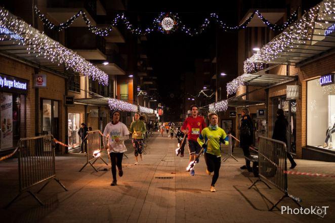 La course aux flambeaux de Louvain-la-Neuve