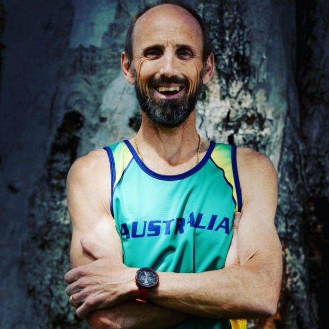 Le blogueur et marathonien australien Kevin Matthews