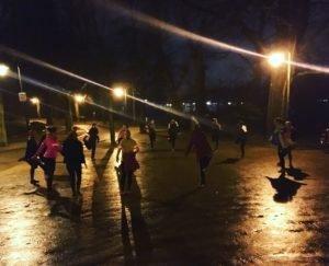 Running Girls Groningen training