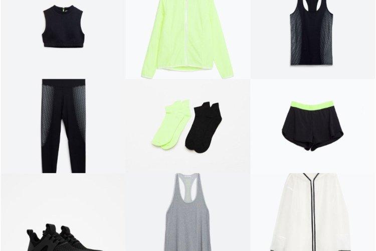 Nieuwe sportcollectie Zara!