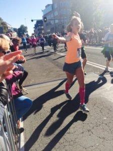 Running girl Tamar