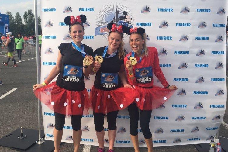 Halve marathon van Disneyland Parijs!