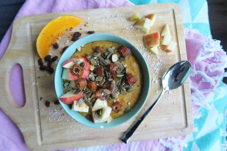 Een herfstig en warm ontbijt à la Marit.