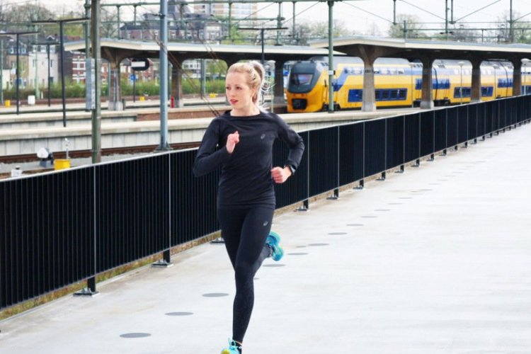 Running Girl van de week: Monique!