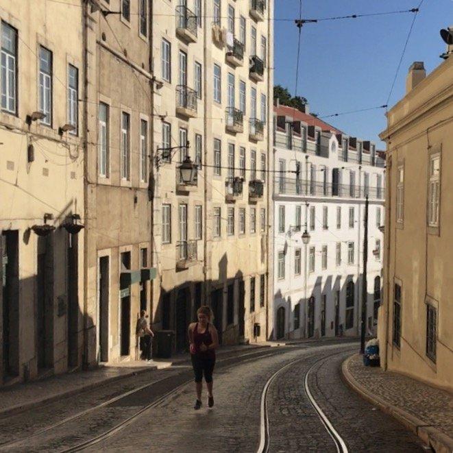 hardlopen in lissabon
