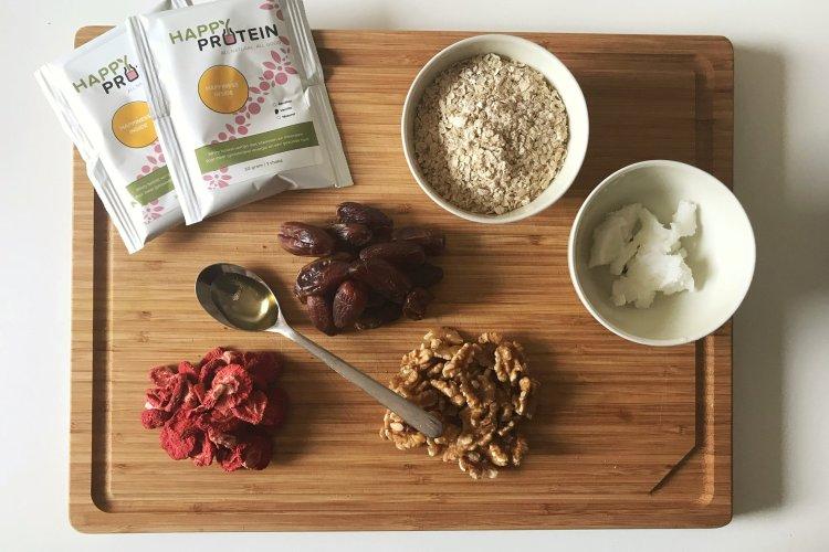 Dadel met aardbeien snack + winactie!