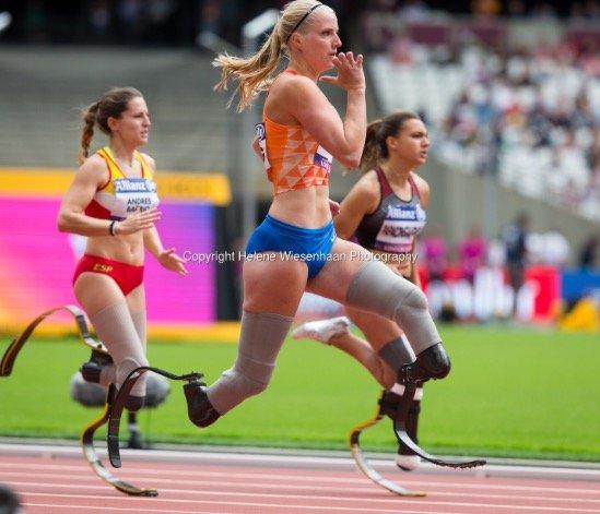 running girl fleur