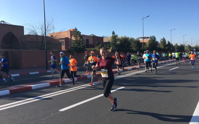 Hardlopen in Marrakech!