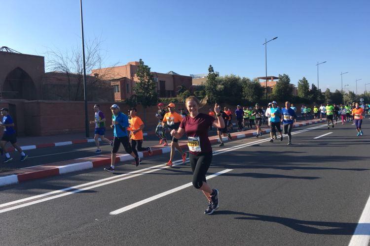 Hardlopen in Marrakech!