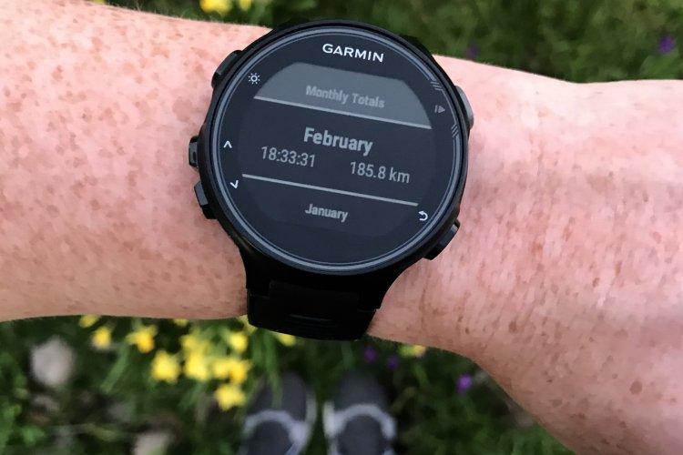 185 kilometer in februari!