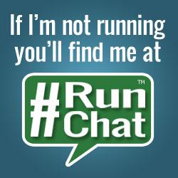 Find me at #RunChat