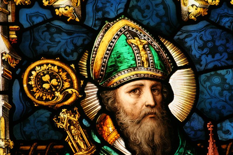 Saint Patrick, patron saint of Ireland