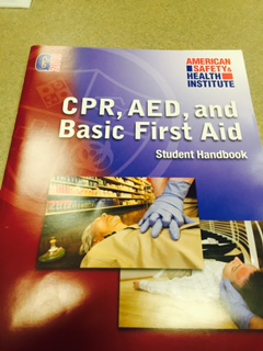 CPR & First Aid textbook