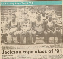 1991 outdoor track