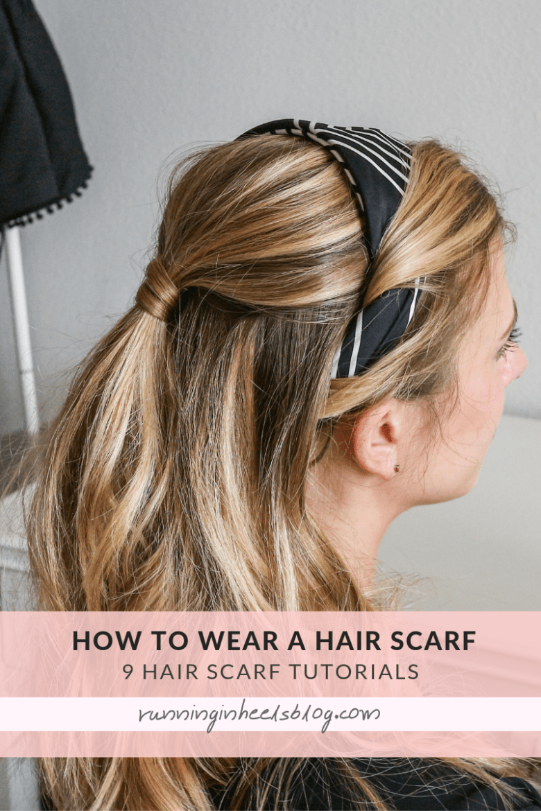How to Wear a Hair Scarf, tips featured by top US beauty blog, Running in Heels:  as a headband