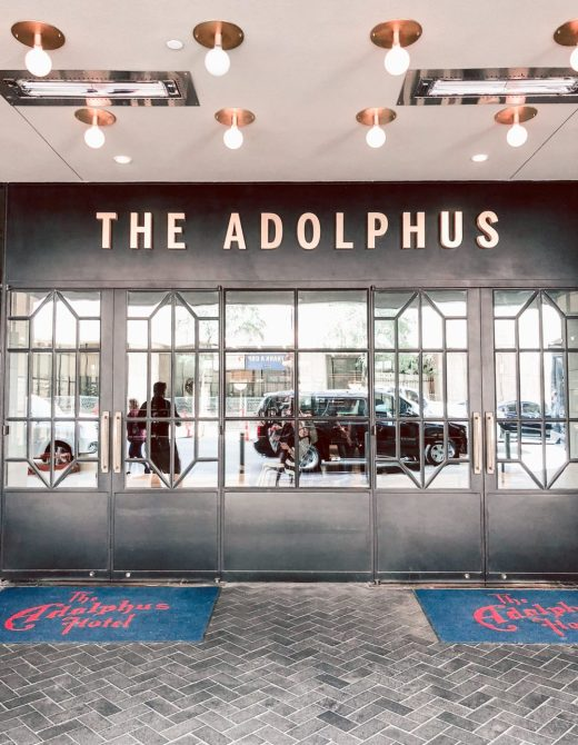 His and Hers Pampering at the Adolphus, Adolphus front door