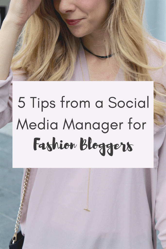 5 Tips from a Social Media Manager for Bloggers | Running in