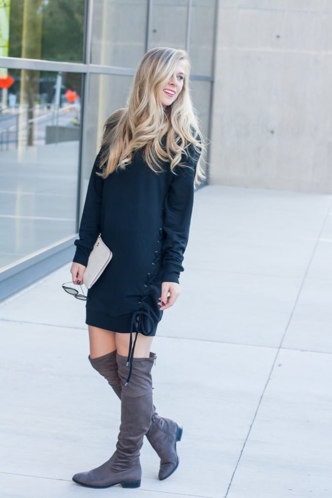 Sweatshirt Dresses for Fall