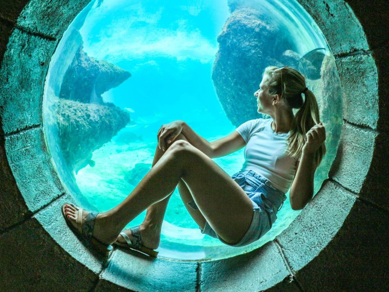 Best Things to Do in Atlantis Bahamas featured by top US travel blog, Running in Heels