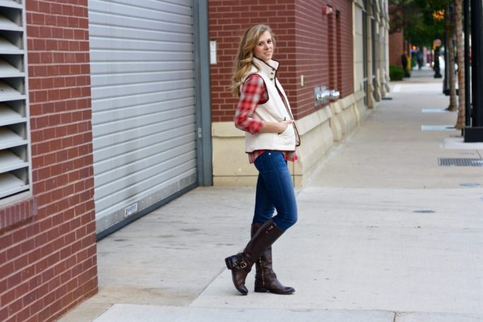 Running in Heels, Plaid, Perfect for Fall