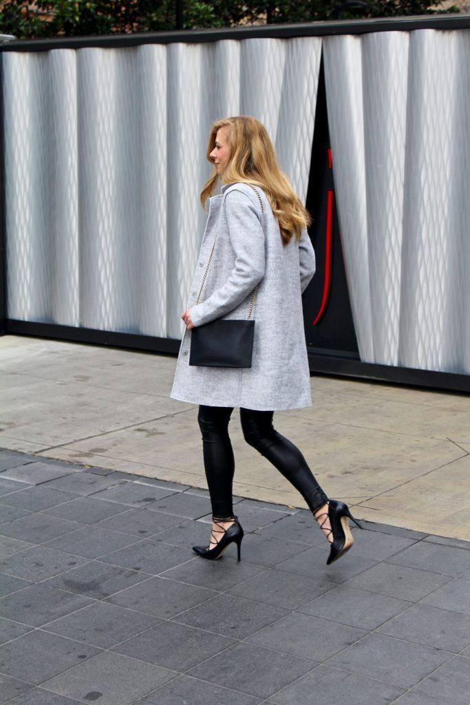 Leather Leggings for Brunch