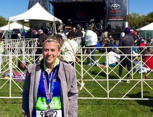 Finisher of the Rock 'n' Roll Dallas Half Marathon!