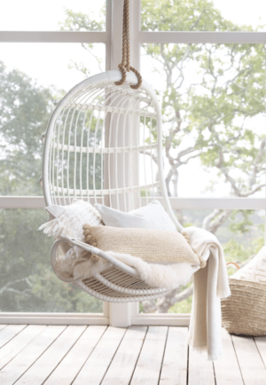 Serena and Lily Sale: Top Picks to Shop During the Fall Design Event featured by top Dallas lifestyle blogger, Running in Heels: Hanging Rattan Chair