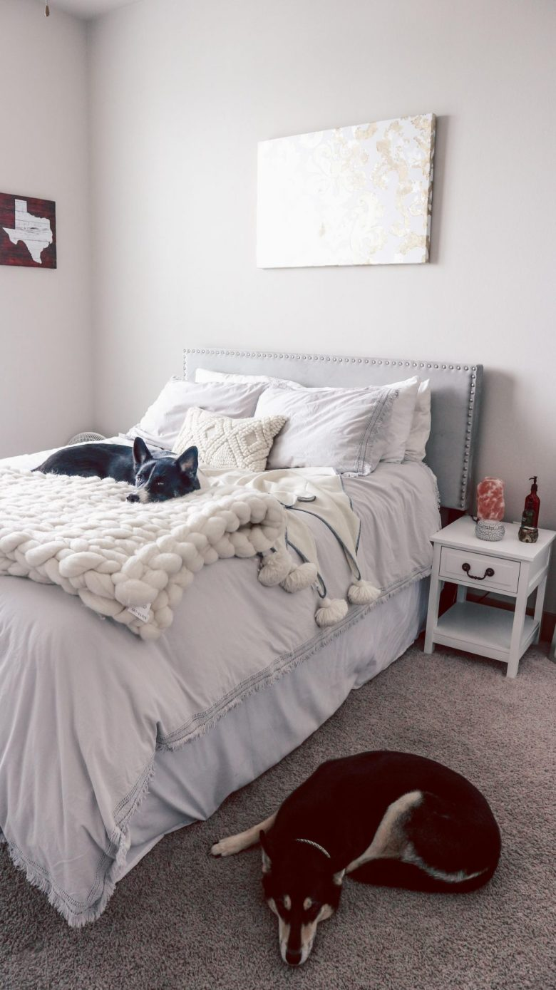 Serena and Lily Bedding Review featured by top US life and style blog, Running in Heels:: Duvet & Wool Blanket