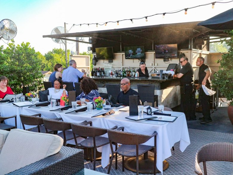 Best Rooftop Bars in Dallas featured by top Dallas blog, Running in Heels: Terilli's