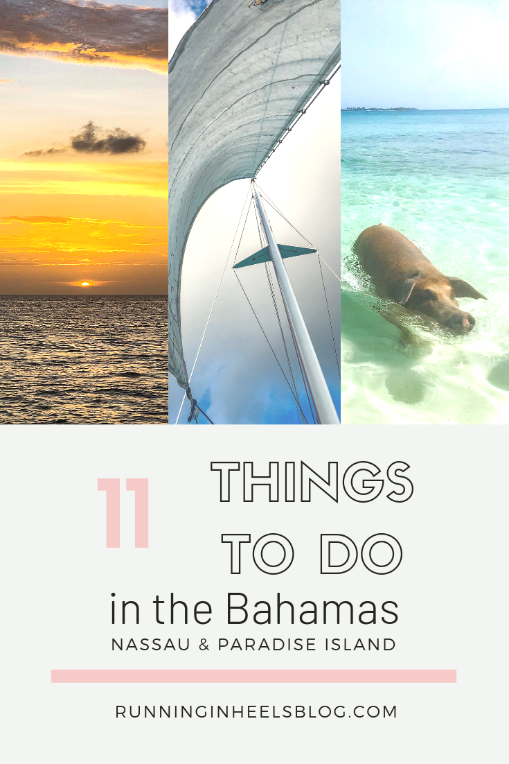 Fun Things to Do in the Bahamas for Adults featured by top US travel blog, Running in Heels