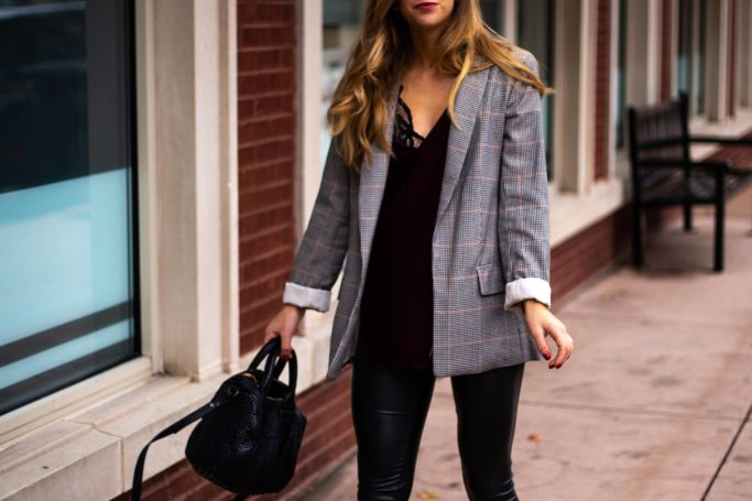 Running In Heels / How to Dress Down A Blazer