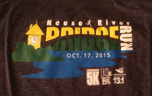 Bridge Run 5k 2015 Shirt