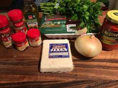 Moroccan Spiced Lamb Ingredients