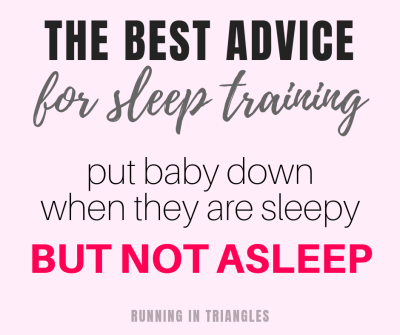 The best advice for sleep training